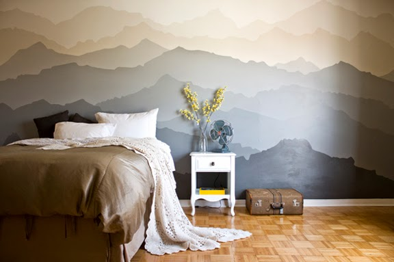 Bedroom mountains